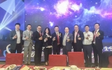 雷竞技|下载畔集团董事长刘穗龙应邀出席南海区鞋业行业协会春茗联谊晚会